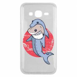 Чехол для Samsung J5 2015 Shark or dolphin