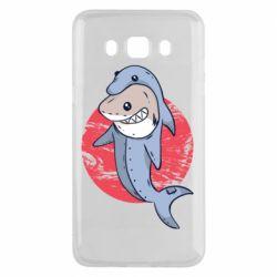 Чехол для Samsung J5 2016 Shark or dolphin