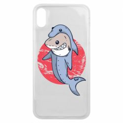 Чехол для iPhone Xs Max Shark or dolphin