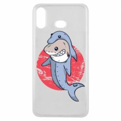 Чехол для Samsung A6s Shark or dolphin