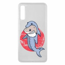 Чехол для Samsung A7 2018 Shark or dolphin