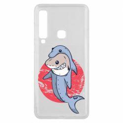 Чехол для Samsung A9 2018 Shark or dolphin