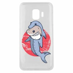 Чехол для Samsung J2 Core Shark or dolphin