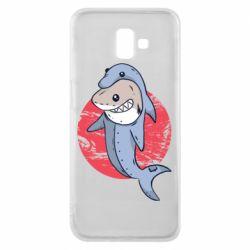 Чехол для Samsung J6 Plus 2018 Shark or dolphin