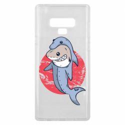 Чехол для Samsung Note 9 Shark or dolphin