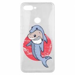 Чехол для Xiaomi Mi8 Lite Shark or dolphin