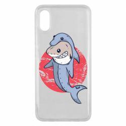 Чехол для Xiaomi Mi8 Pro Shark or dolphin