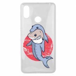Чехол для Xiaomi Mi Max 3 Shark or dolphin