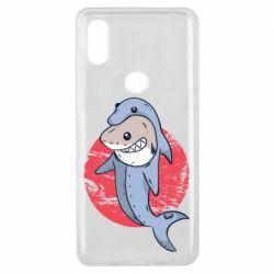 Чехол для Xiaomi Mi Mix 3 Shark or dolphin