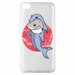 Чехол для Xiaomi Redmi Go Shark or dolphin