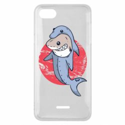 Чехол для Xiaomi Redmi 6A Shark or dolphin