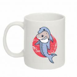 Кружка 320ml Shark or dolphin