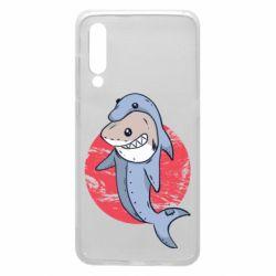 Чехол для Xiaomi Mi9 Shark or dolphin