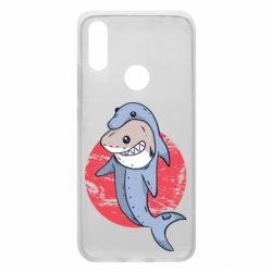 Чехол для Xiaomi Redmi 7 Shark or dolphin