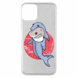 Чехол для iPhone 11 Shark or dolphin