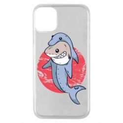 Чехол для iPhone 11 Pro Shark or dolphin