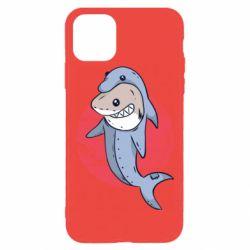 Чехол для iPhone 11 Pro Max Shark or dolphin