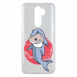 Чехол для Xiaomi Redmi Note 8 Pro Shark or dolphin