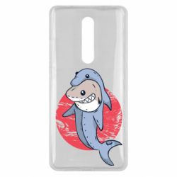 Чехол для Xiaomi Mi9T Shark or dolphin
