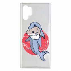 Чехол для Samsung Note 10 Plus Shark or dolphin