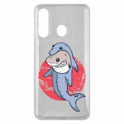 Чехол для Samsung M40 Shark or dolphin