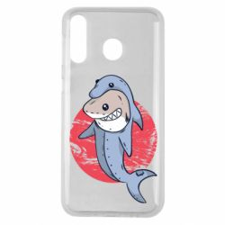 Чехол для Samsung M30 Shark or dolphin