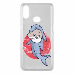 Чехол для Samsung A10s Shark or dolphin