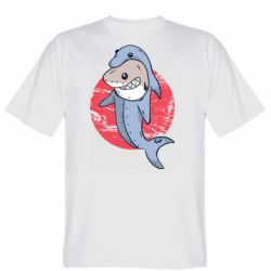 Мужская футболка Shark or dolphin