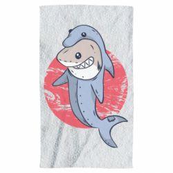 Полотенце Shark or dolphin