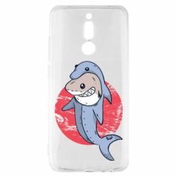 Чехол для Xiaomi Redmi 8 Shark or dolphin