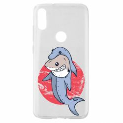 Чехол для Xiaomi Mi Play Shark or dolphin