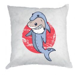 Подушка Shark or dolphin