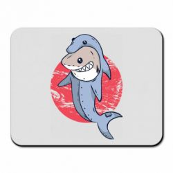 Коврик для мыши Shark or dolphin
