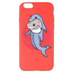 Чехол для iPhone 6 Plus/6S Plus Shark or dolphin