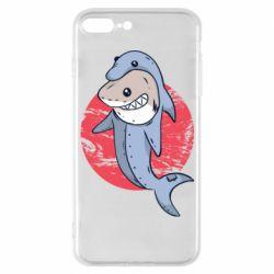 Чехол для iPhone 7 Plus Shark or dolphin
