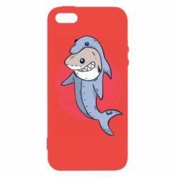 Чехол для iPhone5/5S/SE Shark or dolphin