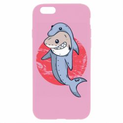 Чехол для iPhone 6/6S Shark or dolphin