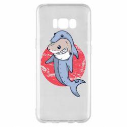 Чехол для Samsung S8+ Shark or dolphin