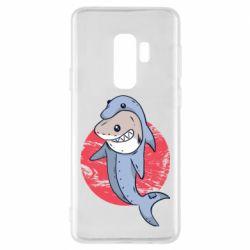 Чехол для Samsung S9+ Shark or dolphin