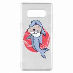 Чехол для Samsung Note 8 Shark or dolphin