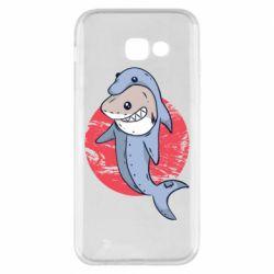 Чехол для Samsung A5 2017 Shark or dolphin