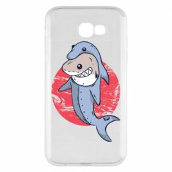 Чехол для Samsung A7 2017 Shark or dolphin