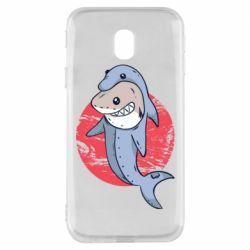 Чехол для Samsung J3 2017 Shark or dolphin