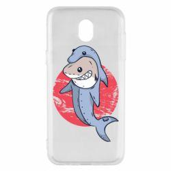 Чехол для Samsung J5 2017 Shark or dolphin