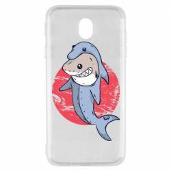 Чехол для Samsung J7 2017 Shark or dolphin