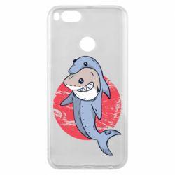 Чехол для Xiaomi Mi A1 Shark or dolphin