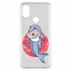 Чехол для Xiaomi Mi A2 Shark or dolphin