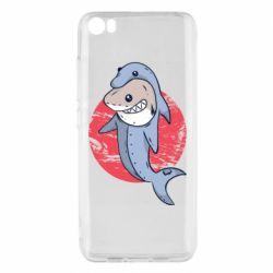 Чехол для Xiaomi Mi5/Mi5 Pro Shark or dolphin