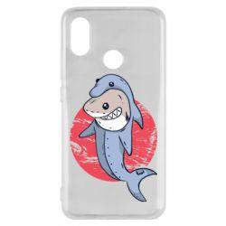 Чехол для Xiaomi Mi8 Shark or dolphin