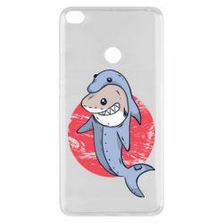 Чехол для Xiaomi Mi Max 2 Shark or dolphin